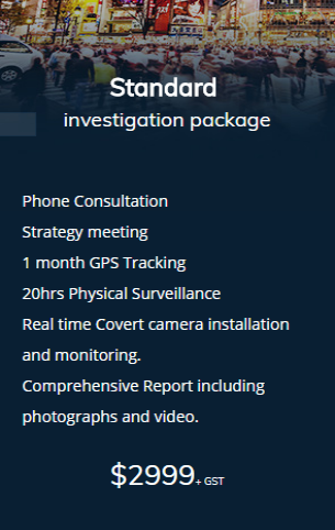 standard-investigation-package